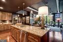 One of 2 Kitchen Islands - 1615 N QUEEN ST #M303, ARLINGTON