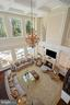 Two-Story Great Room with 25' Coffered Ceiling - 22608 CREIGHTON FARMS DR, LEESBURG