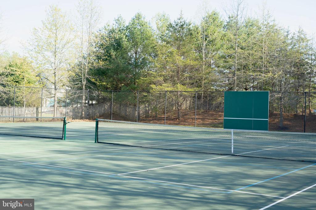 The community tennis courts. - 6 BULLRUSH CT, STAFFORD