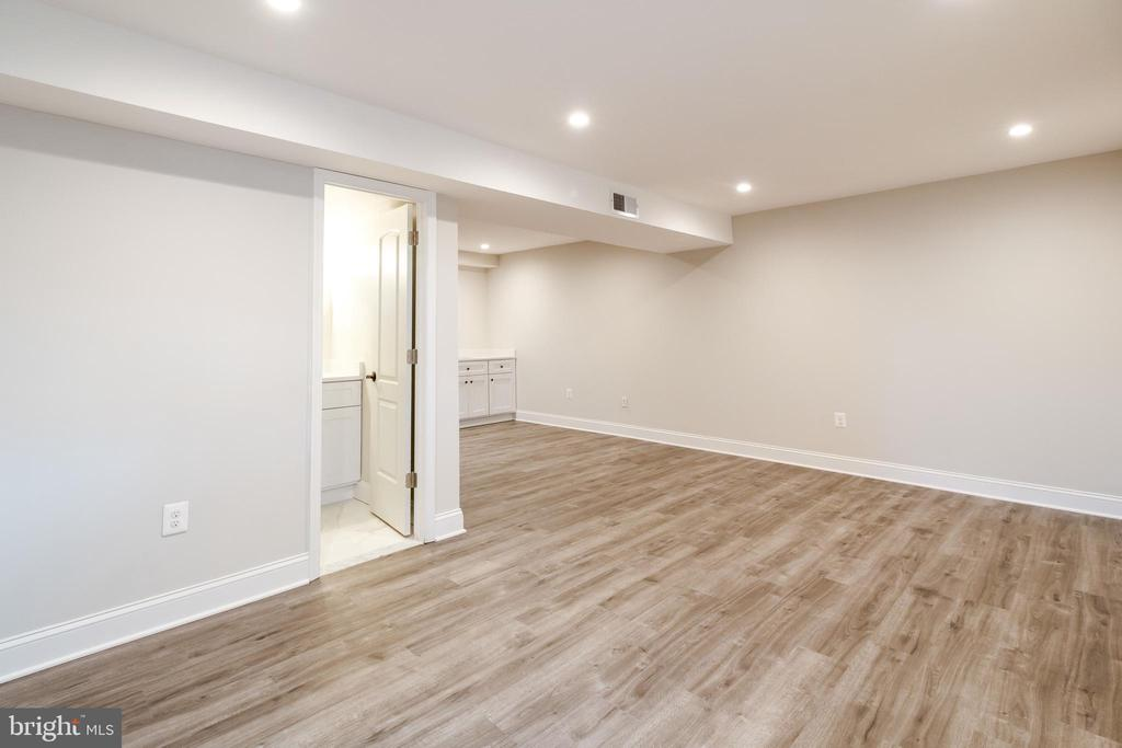 Open Area (living rm & dining rm) Lower Level 2 - 13203 TAMARACK RD, SILVER SPRING