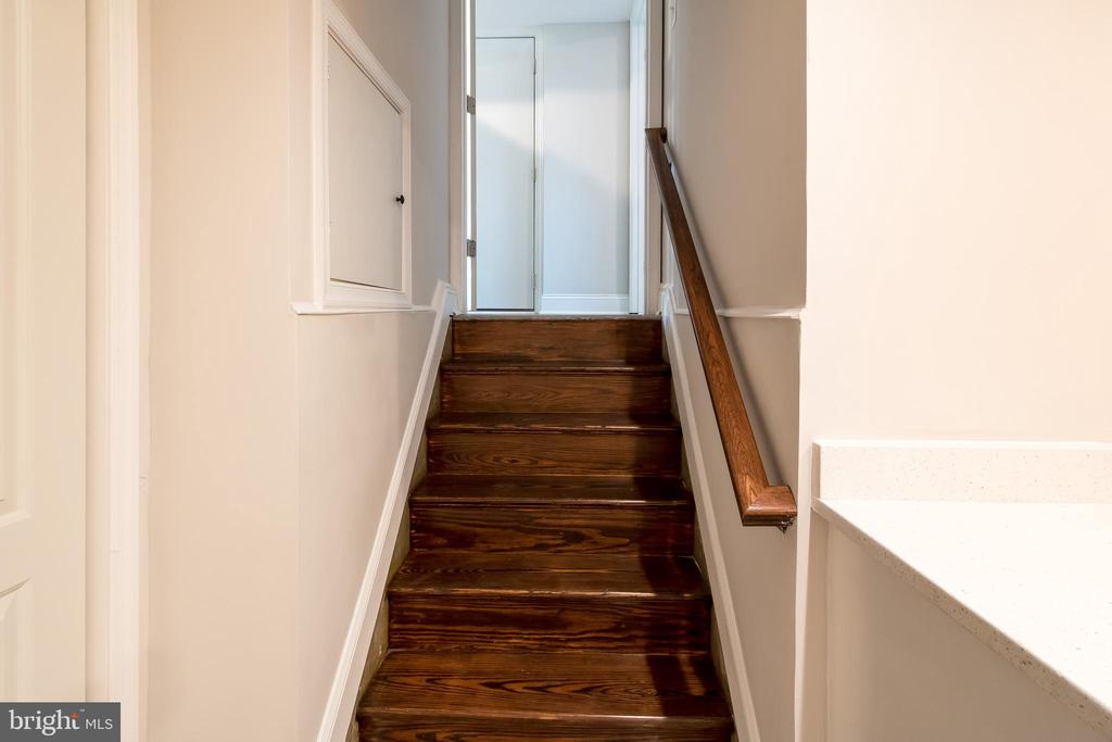 Stairs to Lower Level 2 - 13203 TAMARACK RD, SILVER SPRING