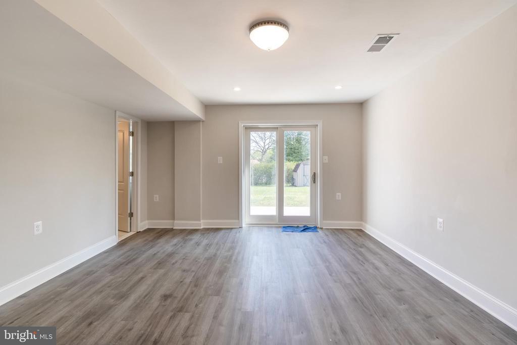 Lower Level 1 Family Room - 13203 TAMARACK RD, SILVER SPRING