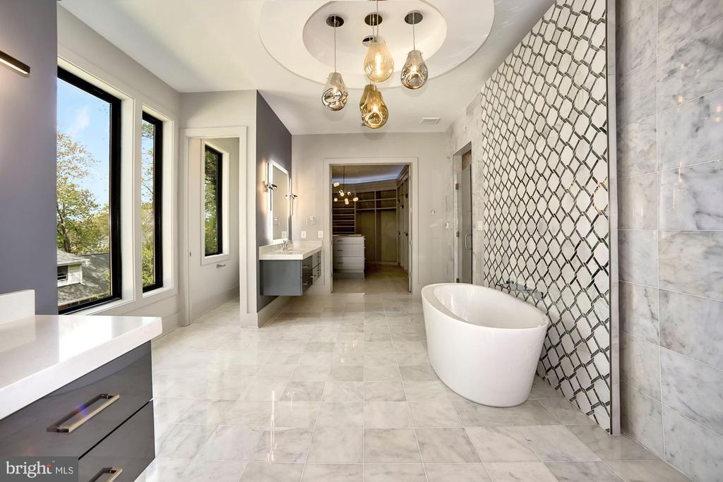 Master suite Luxurious bath - 5800 37TH ST N, ARLINGTON