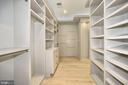 Master suite grand closet - 5800 37TH ST N, ARLINGTON