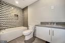 Full Bath basement bedroom - 5800 37TH ST N, ARLINGTON