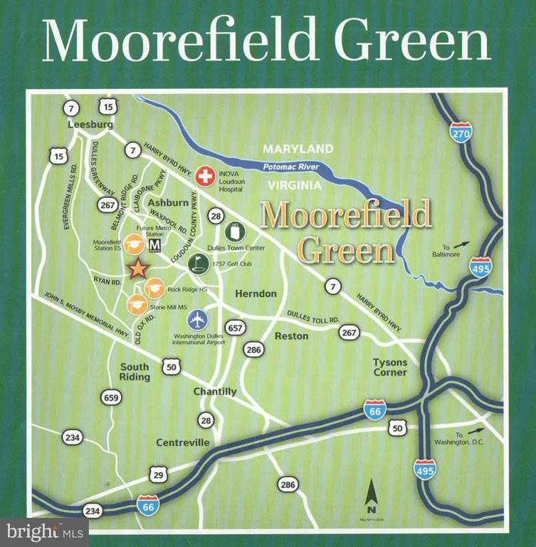 Moorefield Green location - 22525 WILLINGTON SQ, ASHBURN