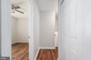 Secondary bedroom hallways - 330 TULIP CIR, FREDERICKSBURG