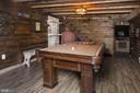 Game Room on Lower Level of Jack's Barn - 20857 ASHBURN RD, ASHBURN