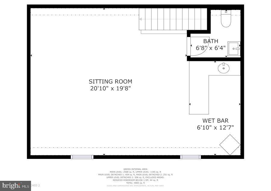 Upper Level of Jack's Barn - 20857 ASHBURN RD, ASHBURN