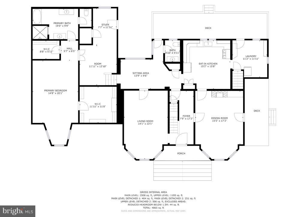 Main Level of House - 20857 ASHBURN RD, ASHBURN