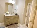 Half bath on  the main floor - 6343 BUFFIE CT, BURKE