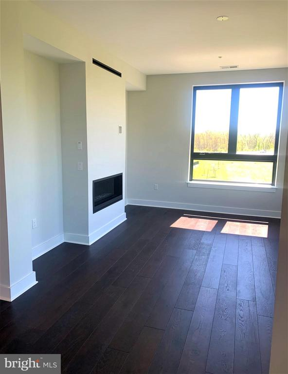 Linear gas fireplace for cozy nights - 44691 WELLFLEET DR #305, ASHBURN