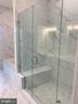 Large walk in shower with bench - 44691 WELLFLEET DR #305, ASHBURN