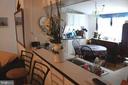Pass thru to kitchen from living room - 13708 GABRIEL CT, SPOTSYLVANIA