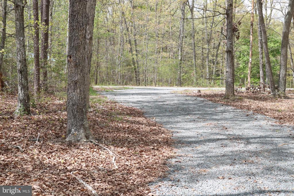 Gravel Driveway - 13708 GABRIEL CT, SPOTSYLVANIA