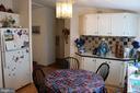 Kitchen and Eating Area - 13708 GABRIEL CT, SPOTSYLVANIA