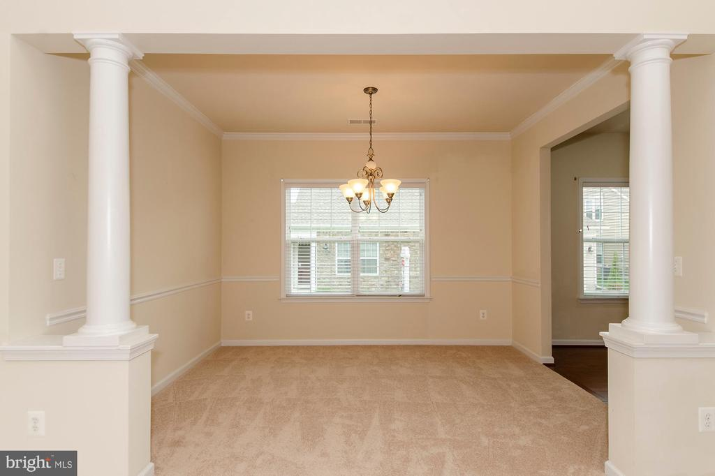 Large dining area - 63 HARPERS MILL WAY, LOVETTSVILLE