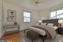 Bedroom 2 in front corner of house - 5041 KING RICHARD DR, ANNANDALE