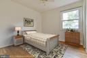 Bedroom 3 with front view - 5041 KING RICHARD DR, ANNANDALE