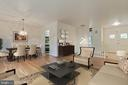 Refinished hardwood floors - 5041 KING RICHARD DR, ANNANDALE
