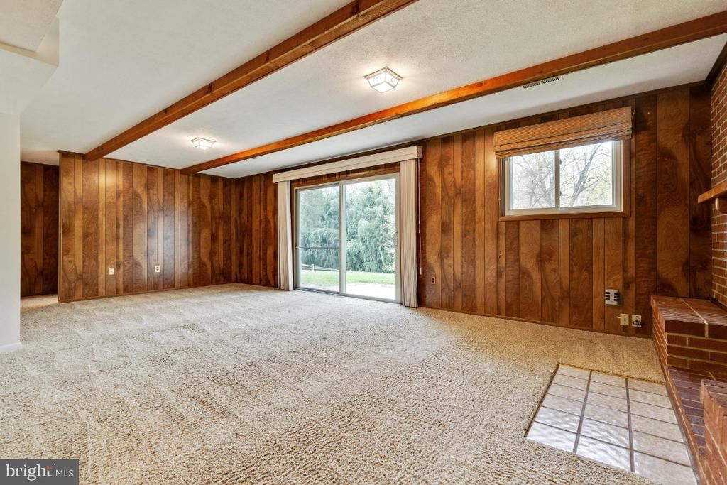 Natural light throughout family room - 5041 KING RICHARD DR, ANNANDALE