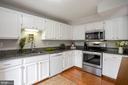 Spacious Kitchen with Newer Granite Countertops - 81 SOUTHALL CT, STERLING
