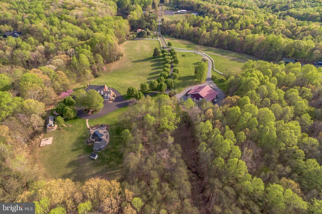 Aerial View - 12620 CHEWNING LN, FREDERICKSBURG