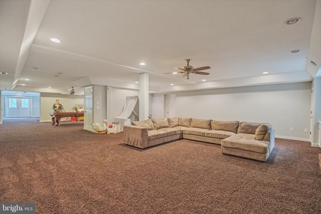 Recreation Room in Basement - 12620 CHEWNING LN, FREDERICKSBURG