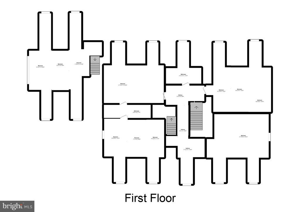 Floor Plan Upper Level 1 - 12620 CHEWNING LN, FREDERICKSBURG