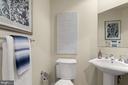 Guest 1/2 bathroom - 3625 10TH ST N #903, ARLINGTON