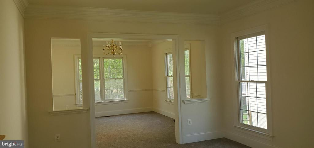 Dining and Living room - 3709 FIDELIS CT, TRIANGLE