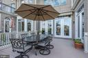 Extended Deck off Family Rm to enjoy your  dinners - 18362 FAIRWAY OAKS SQ, LEESBURG