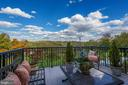 Large balcony with amazing views to catch sunrise - 18362 FAIRWAY OAKS SQ, LEESBURG