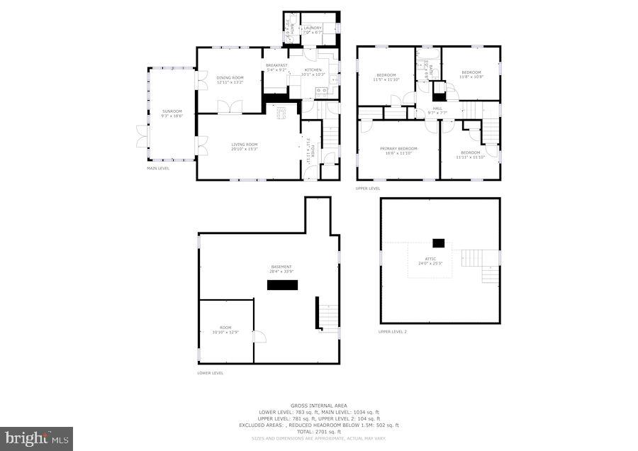 Floor Plans - 415 S MAPLE AVE, PURCELLVILLE