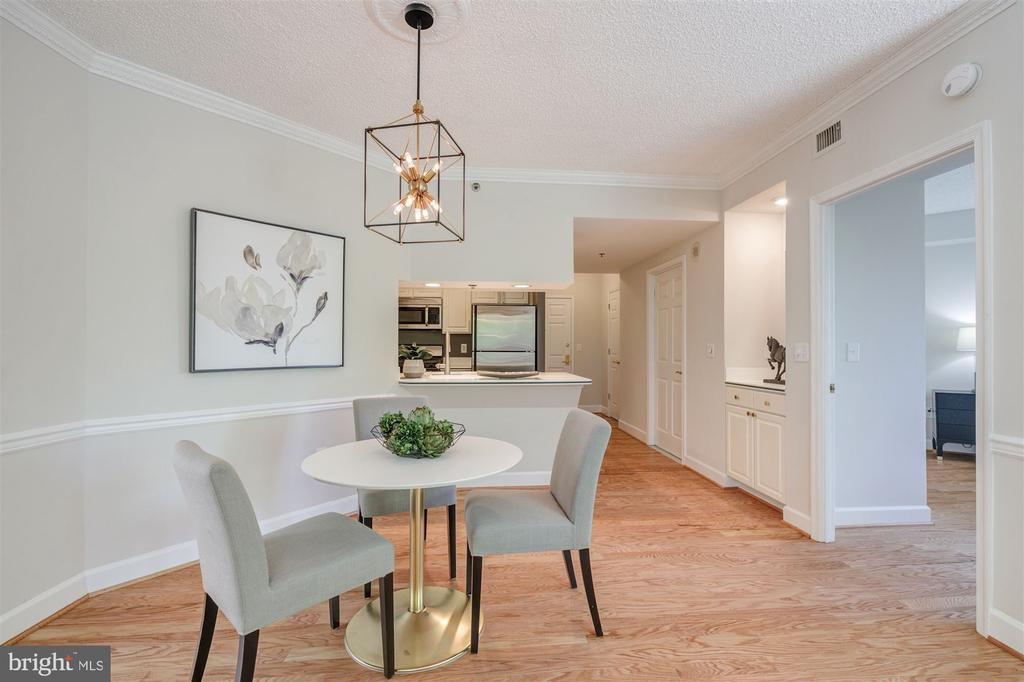 Dining Room - 1276 N WAYNE ST #130, ARLINGTON