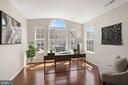 Palladian window, gorgeous hardwoods - 25532 GOVER DR, CHANTILLY