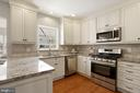 Granite, stainless & soft close cabinetry - 25532 GOVER DR, CHANTILLY
