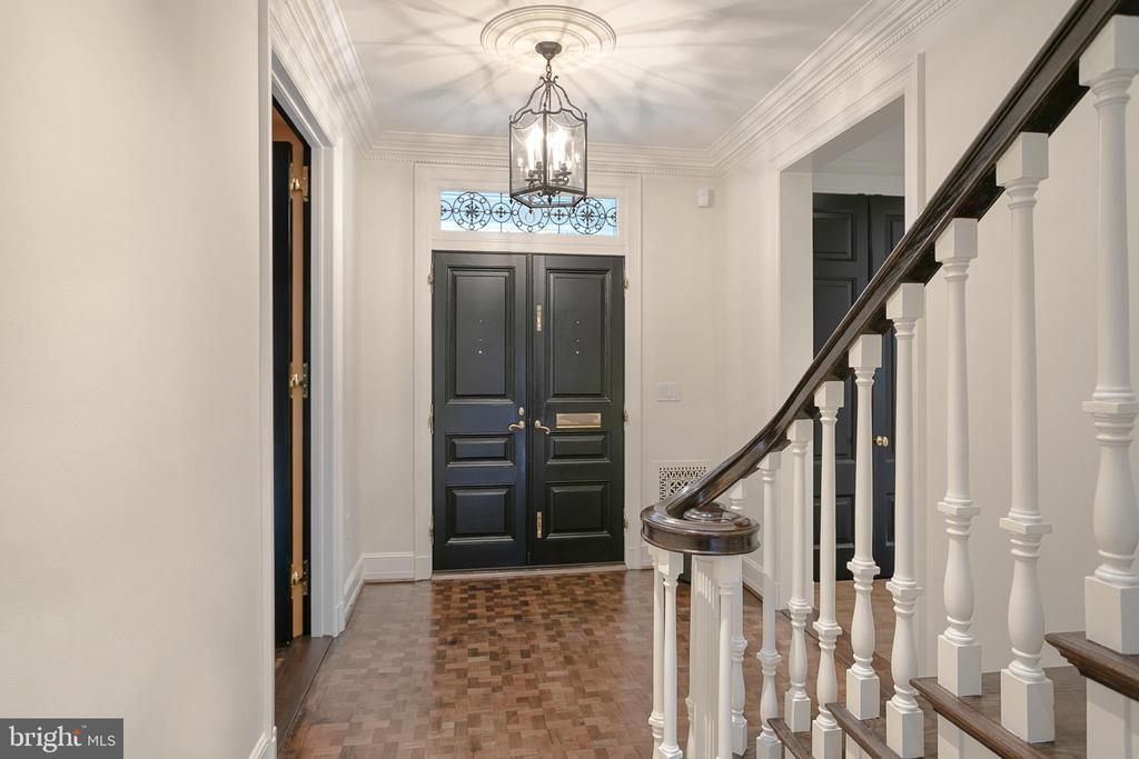 Entry Foyer - 6 KALORAMA CIR NW, WASHINGTON