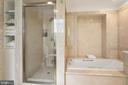 Primary Bathroom - 6 KALORAMA CIR NW, WASHINGTON