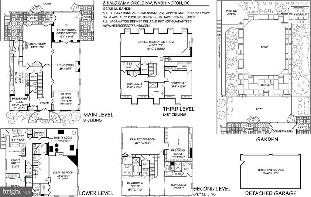 Floor Plan - 6 KALORAMA CIR NW, WASHINGTON