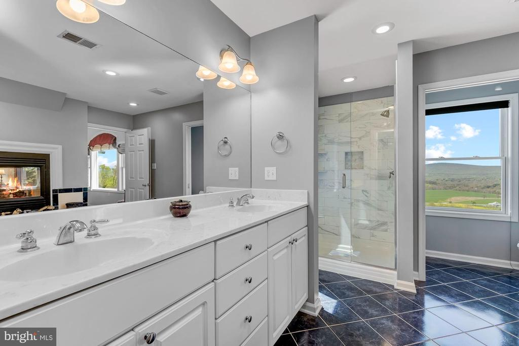 Dual Vanities | Glass Enclosed Shower - 8329 MYERSVILLE RD, MIDDLETOWN