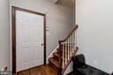 Back Staircase - 8329 MYERSVILLE RD, MIDDLETOWN