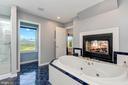 Soaking Tub | Fireplace | Water Closet - 8329 MYERSVILLE RD, MIDDLETOWN