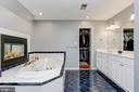 Primary En-Suite Full Bath - 8329 MYERSVILLE RD, MIDDLETOWN