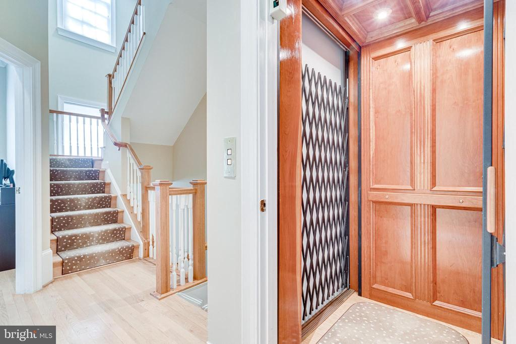 Another view of the beautiful classic elevator - 1315 14TH ST N, ARLINGTON