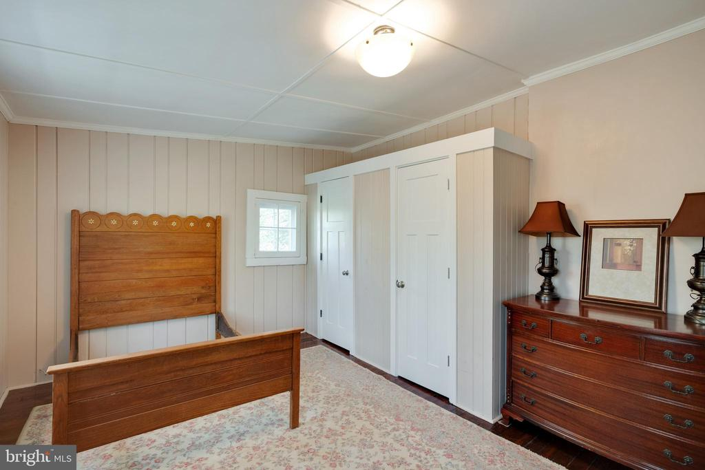 Double closets with space above for storage - 1951 MILLWOOD RD, MILLWOOD