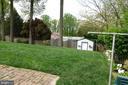 Beautiful yard! - 4132 ADDISON RD, FAIRFAX