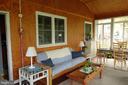 This sun room!  It has an air conditioning unit! - 4132 ADDISON RD, FAIRFAX