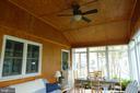This sun room.... - 4132 ADDISON RD, FAIRFAX