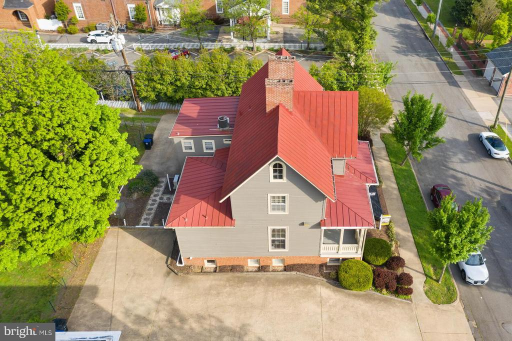 Aerial View of Charles Street - 804 CHARLES ST, FREDERICKSBURG
